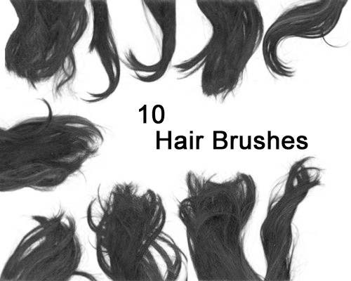 50 Photoshop Hair Brushes Free Psd Ai Vector Eps