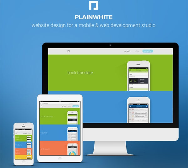 plainwhite on behance copy