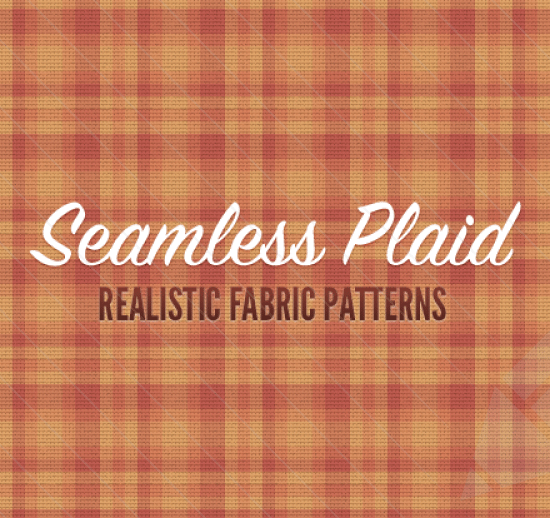 realistic plaid fabric