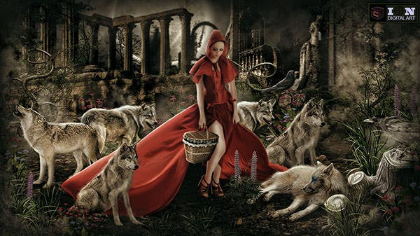 red riding hood copy
