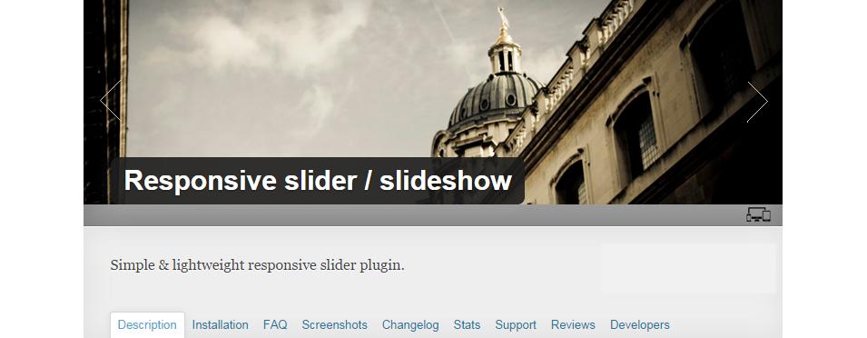 responsive slider slideshow1
