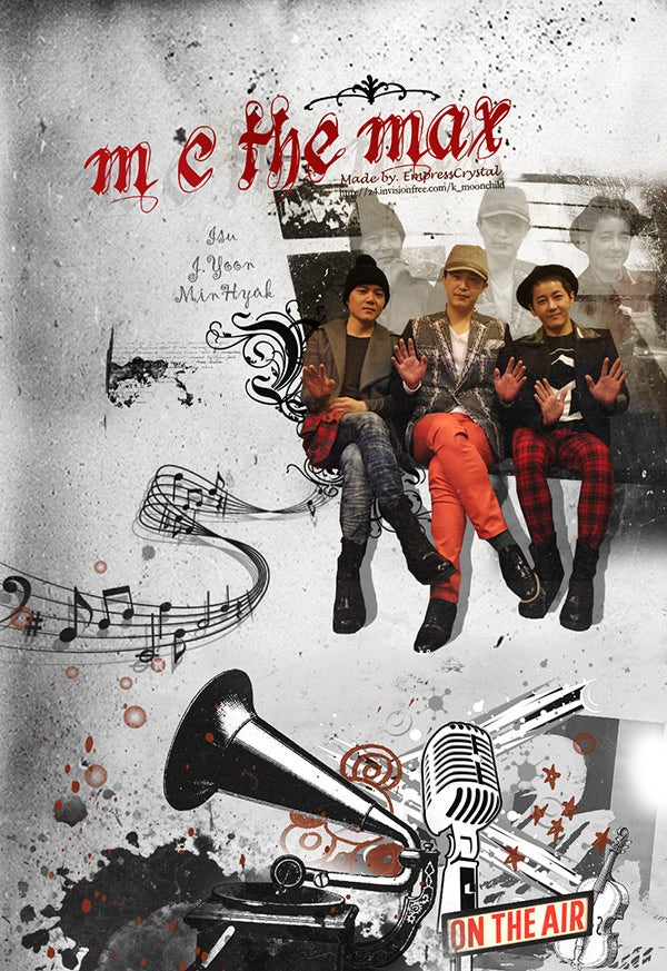 Retro M.C the Max Music poster