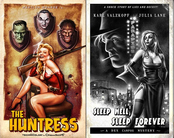 Retro Movie Posters