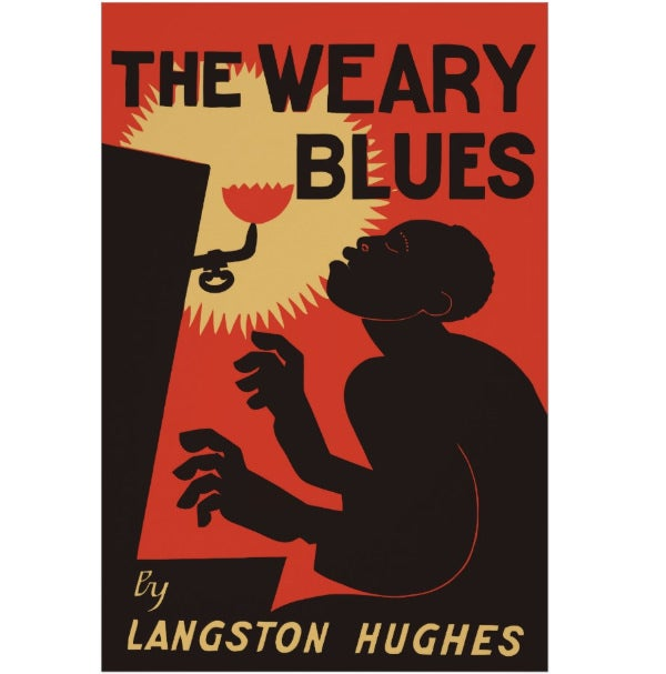 retro the weary blues music poster