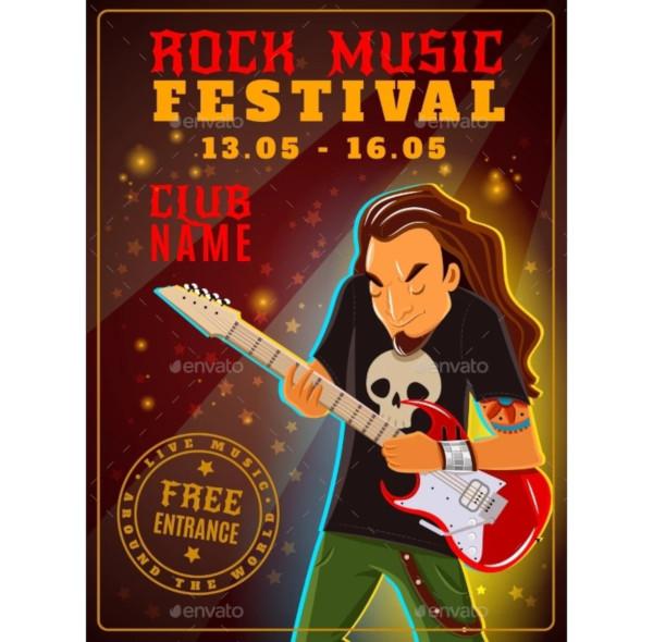 rock music festival poster1