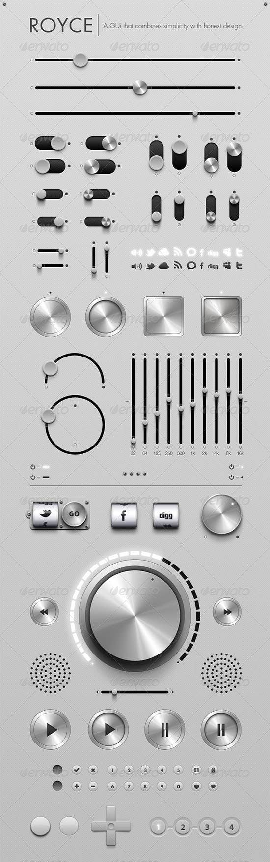 royce graphical user interface design