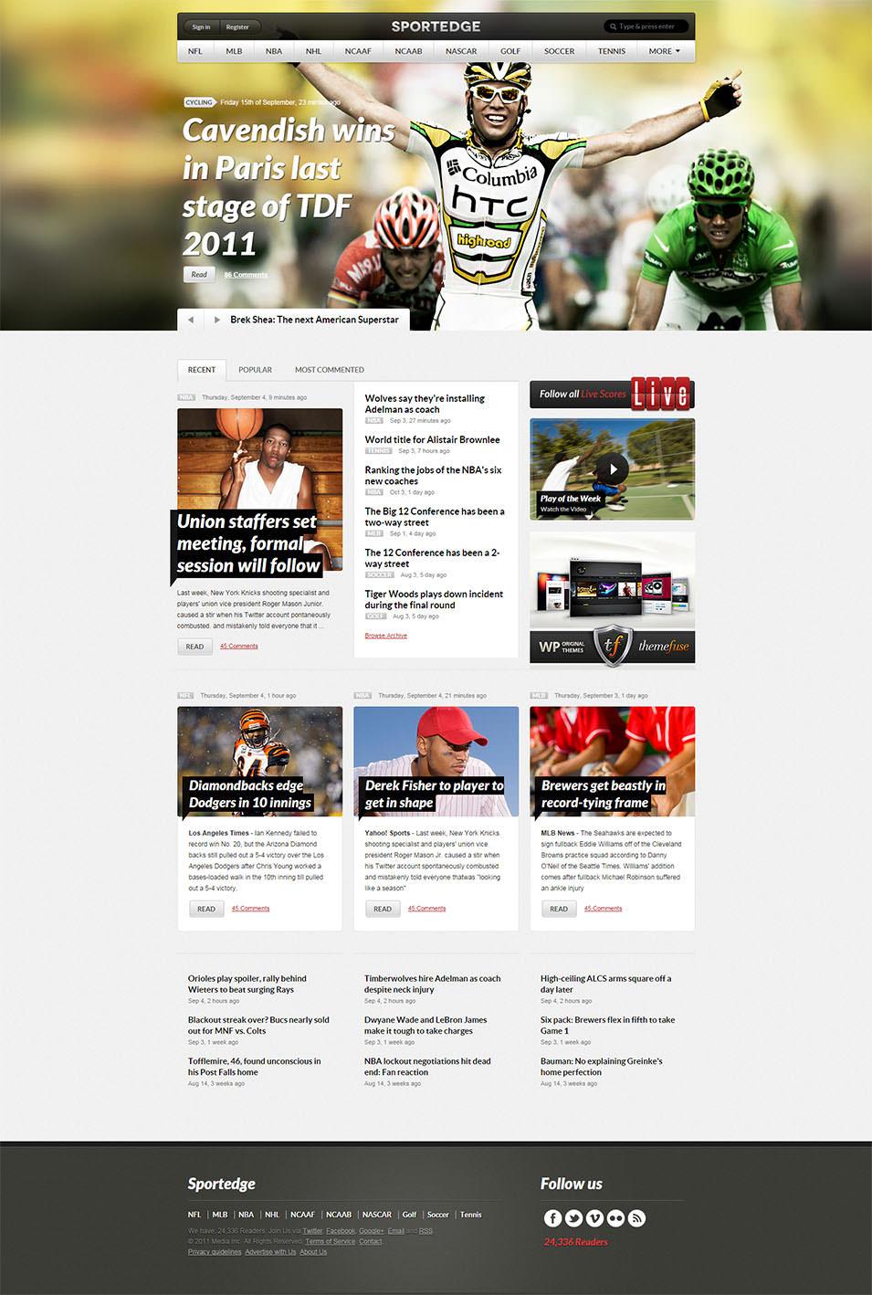 SPORTAGE Homepage
