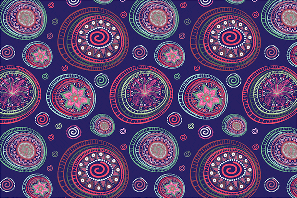seamless ethnic pattern6