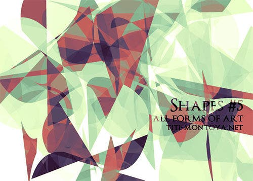 shapes 5 photoshop brushes