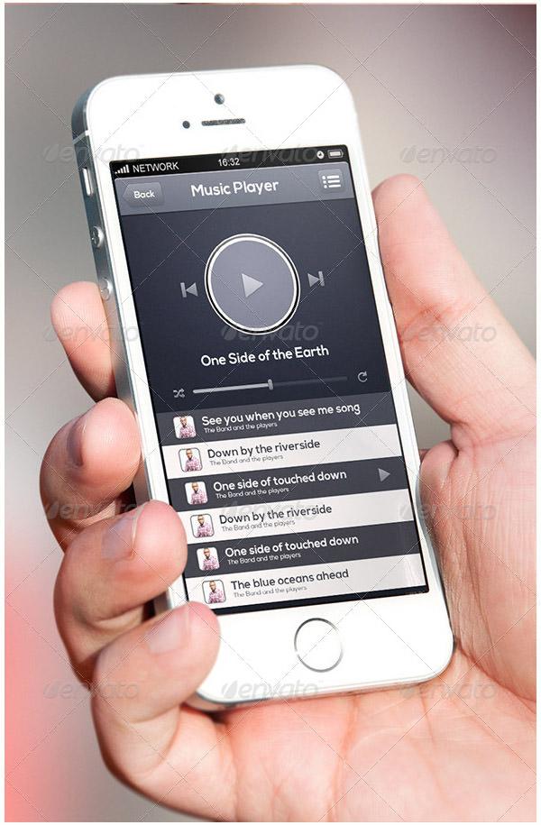 smart mobile ui