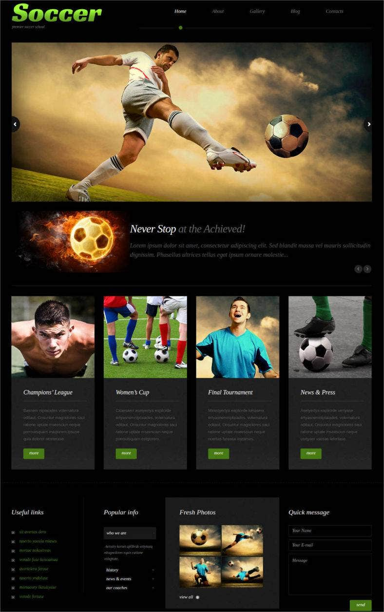 soccer responsive wordpress website theme 788x1256