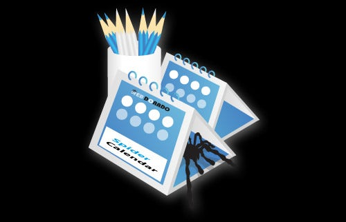 spider event calendar