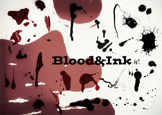 splatter brush and blood brush pack