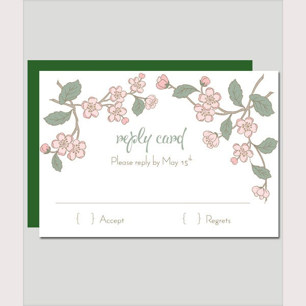spring branch invitation set