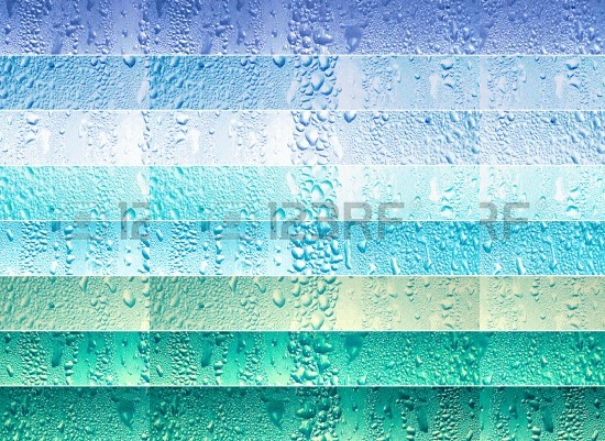 stock photo banners with water drops