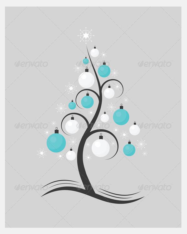 Stylised Christmas Tree