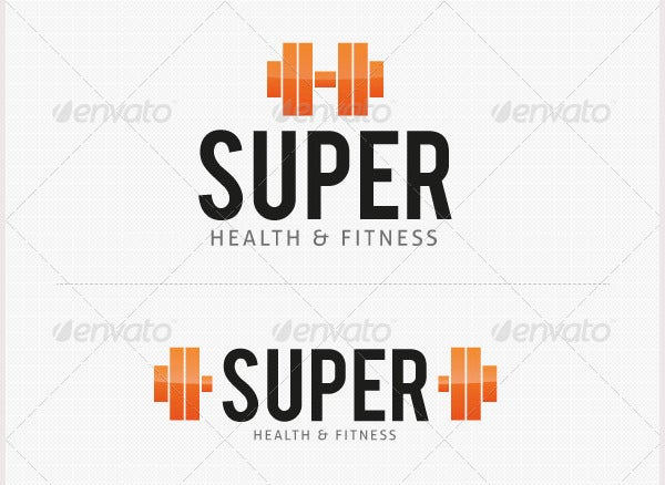 Super Gym Fitness Logo