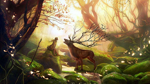 the golden forest wallpaper copy