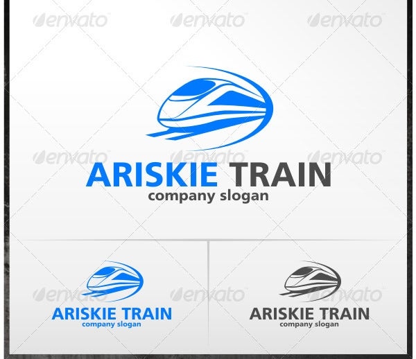 25  best train company logos  u0026 designs for download