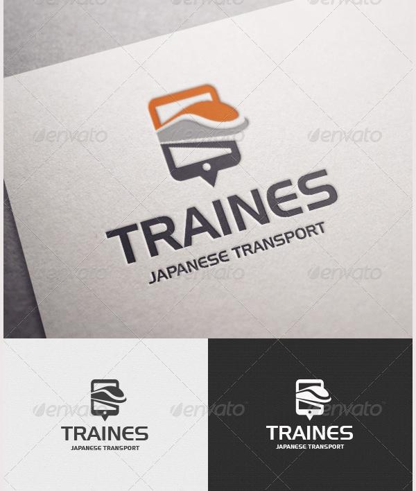 Traines Logo
