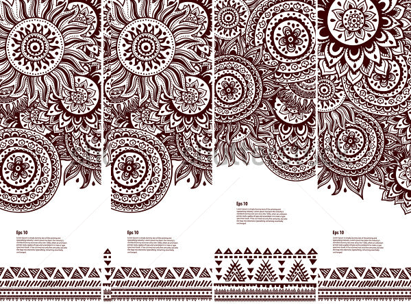 tribal vintage ethnic banners1