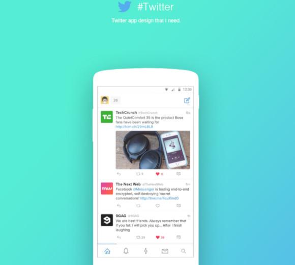 twitter app design concept1