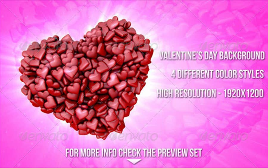 valentines day hearts backgrounds copy
