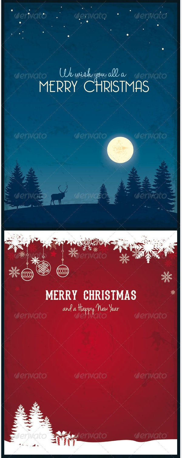 Vector Christmas Backgrounds