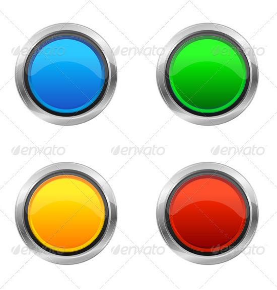 vector design elements buttons