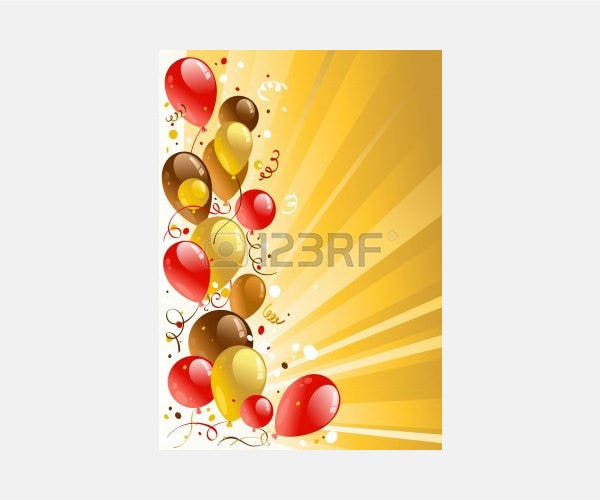 Vector - Golden celebration background with space for text