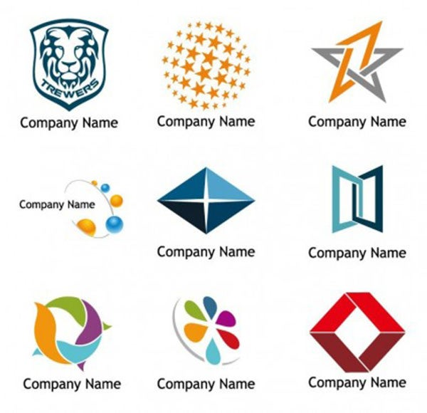 55 stunning free logo design examples for your for Design a company logo free templates