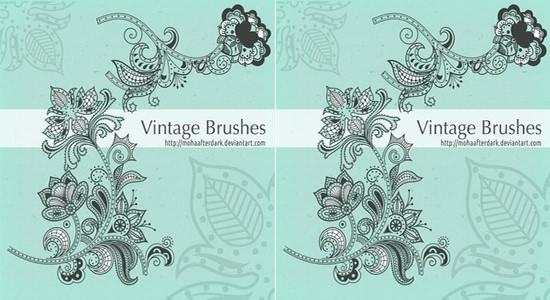 vintage brushes1