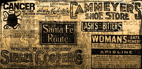 vintage news ad brushes1