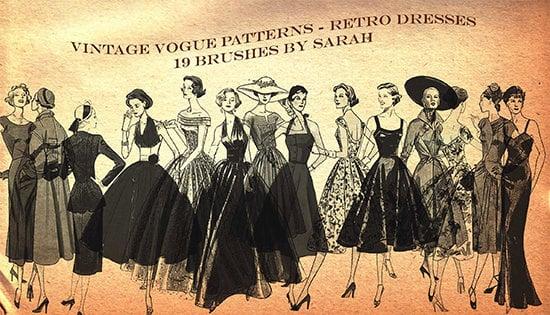 vintage vogue brushes1