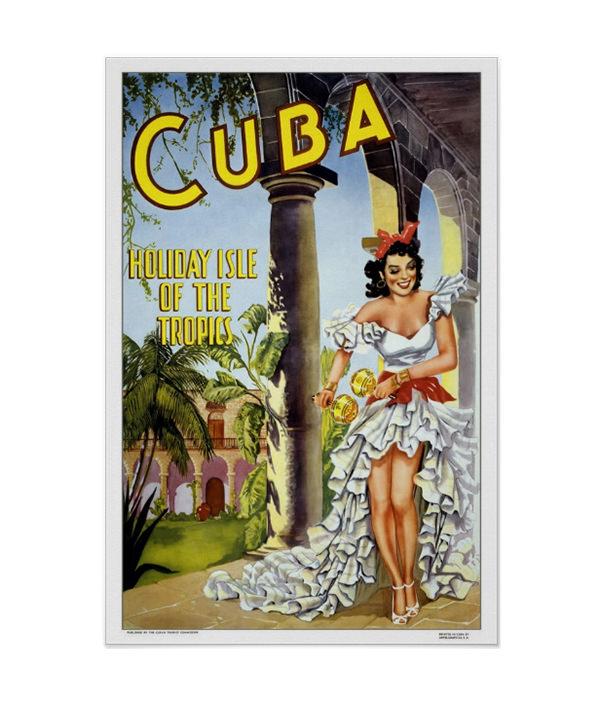 vintage travelcuba posters