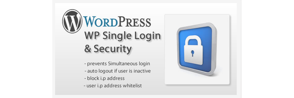 wp single login security
