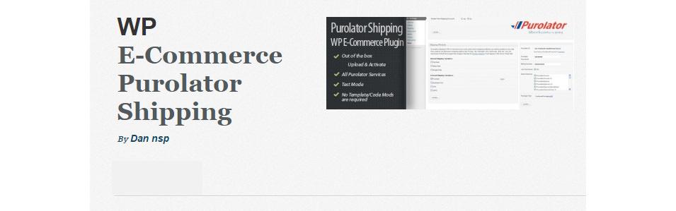 E-Commerce Purolator Shipping
