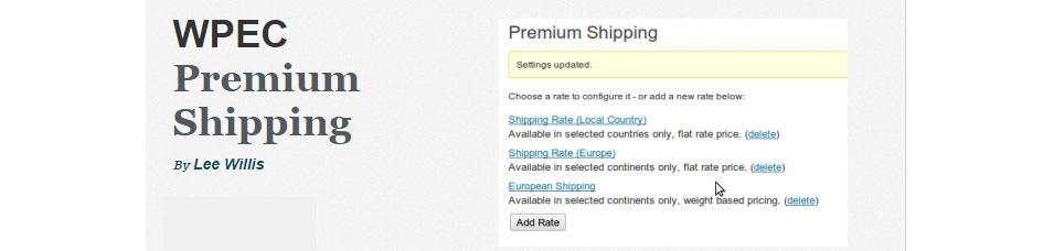 WPEC Premium Shipping