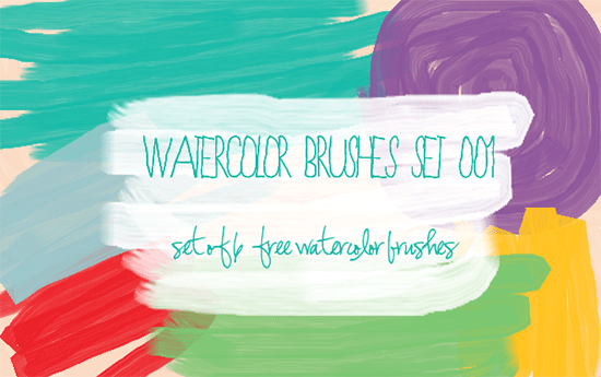 watercolor brushes set 001