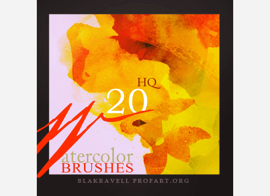watercolor brushes set 1