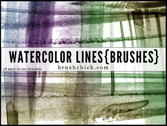watercolor lines