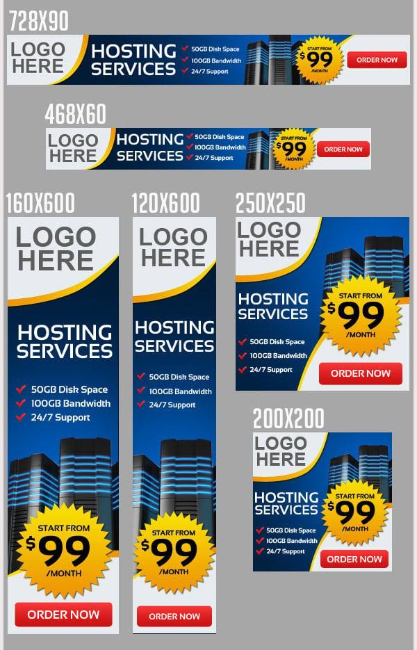 Web Hosting Web Banners