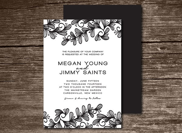 wedding invitation123