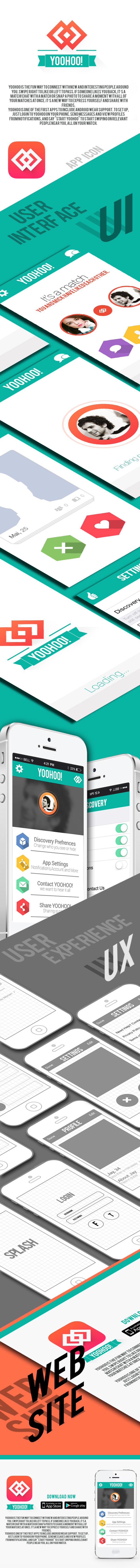 yoohoo app ui design