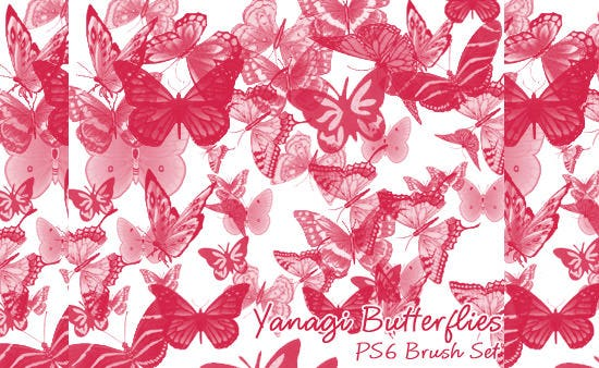 yanagi butterfly brushes