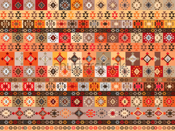 background with ethnic motifs seamless pattern1