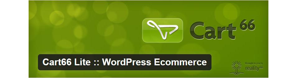 Cart66 Lite :: WordPress Ecommerce