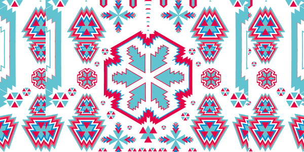 ethnic pattern design vector art2