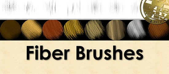 fiber brushes for photoshop large