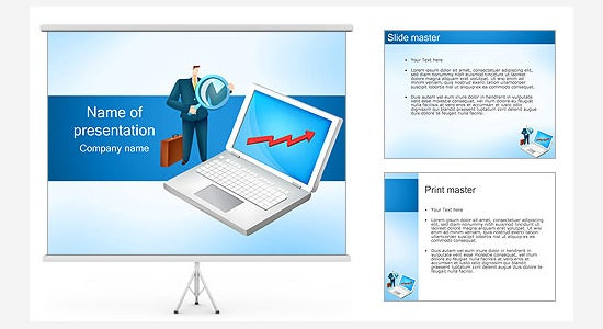 growing business ppt template